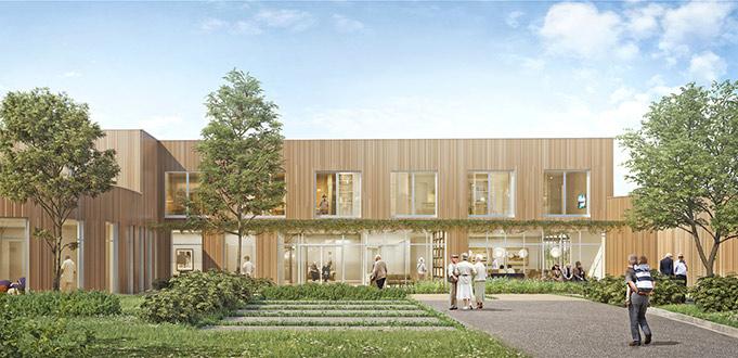 Projet de rénovation et d'agrandissement du site de Brienon sur Armançon